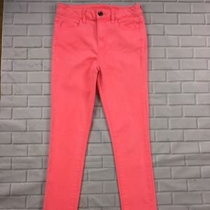 American Eagle Size 4 Hot Pink Skinny Jeans 29.5L